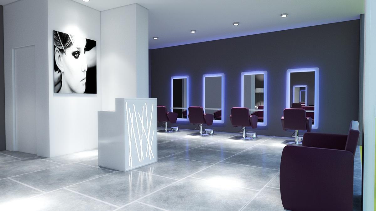 Illuminazione corridoio faretti: interior design, progettazione ...