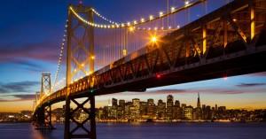 The San Francisco – Oakland Bay Bridge (known locally as the Bay Bridge)